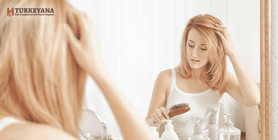 Women Hair loss, Reasons, and Treatments at Home
