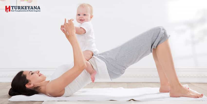 Are Tummy Tuck Exercises Useful After Childbirth