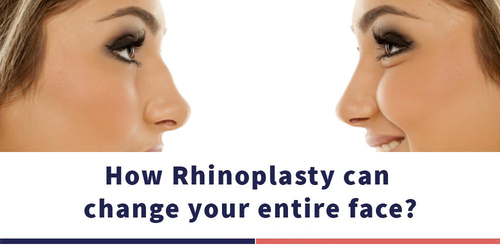 كيف يمكن لعملية تجميل الأنف أن تغير وجهك بالكامل؟